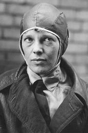 Aviation pioneer Amelia Earhart was the first woman to fly across the Atlantic Ocean solo. She perished on July 2, 1937, while flying over the Atlantic. She had appeared in Richmond the year before.