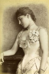"Actress Lilly Langtry, whose romantic escapades helped spread her renown, appeared in Richmond on March 25, 1884. The British-American socialite was known as ""the Jersey Lily."""