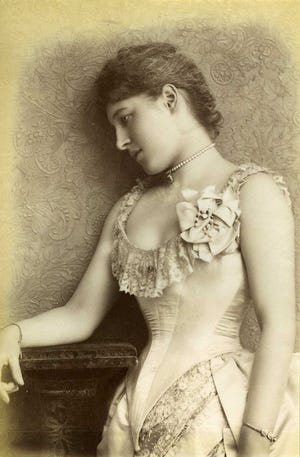 """Actress Lilly Langtry, whose romantic escapades helped spread her renown, appeared in Richmond on March 25, 1884. The British-American socialite was known as """"the Jersey Lily."""""""