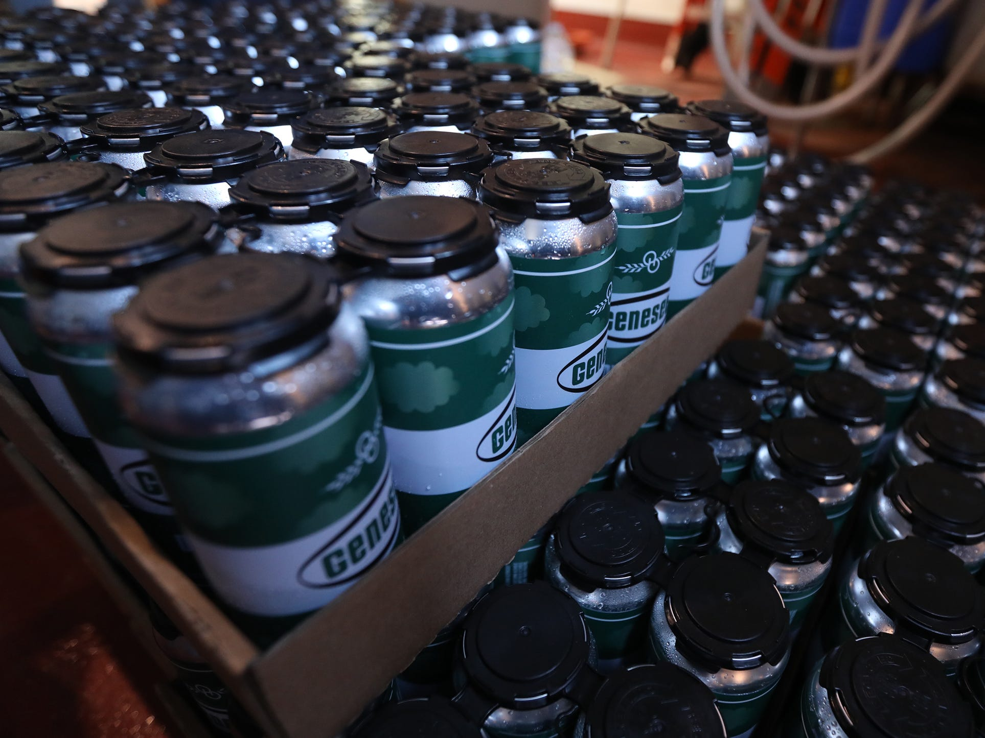180 cases of Genesee Dream Ale were canned.