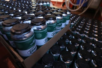 Genesee Brew House and Other Half Brewing collaborated on a beer that was made in a limited amount and only at the two breweries.