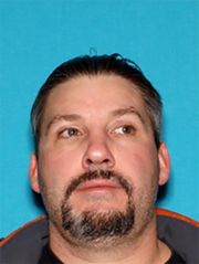Arlend J. Bonsey, 49, of Redding was arrested Sunday night under suspicion of making terrorist threats and domestic battery.