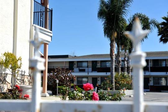 A motel along John Street in Salinas on March 18, 2019.