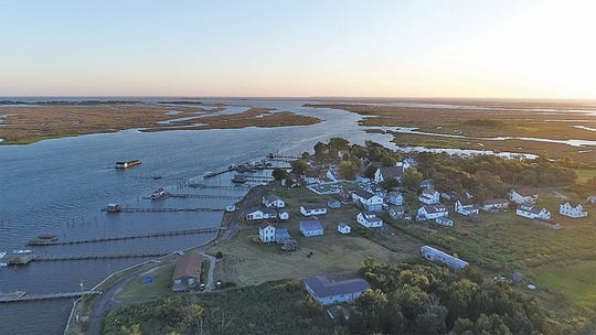 """The population in Smith Island's Tylerton is down to fewer than 35 year-round residents. Rising sea level and """"craving the world"""" has led many of its inhabitants to move to the mainland."""