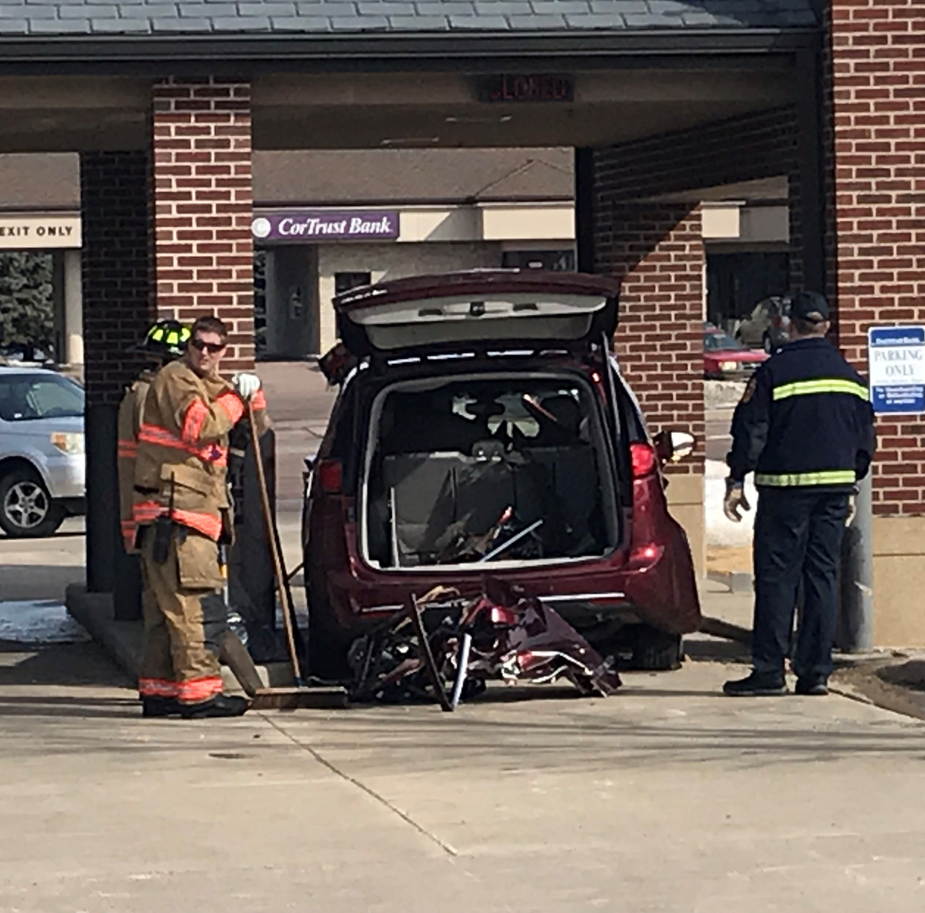 Police: No charges expected in Monday morning bank crash