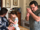 Amy Bussey distracts her daughter Rebecca, 3, while Rebecca's nurse Dan Wyatt begins to prepare the injection given to her every month. Rebecca has Systemic Juvenile Idiopathic Arthritis and is treated with the biologic medication Ilaris made by the drug company Novartis. Photograph taken on Friday, March 15, 2019 in the Bussey home in Ladd, Virginia.