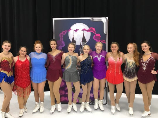 "The St. Cloud Figure Skating Club is celebrating its 45th anniversary with its annual ice show, this year's theme, ""Blast from the Past."""