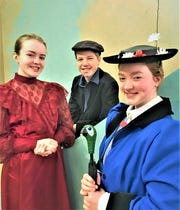 "St. John's Preparatory middle and high school students are performing ""Mary Poppins"" this weekend at the Paramount Center for the Arts."