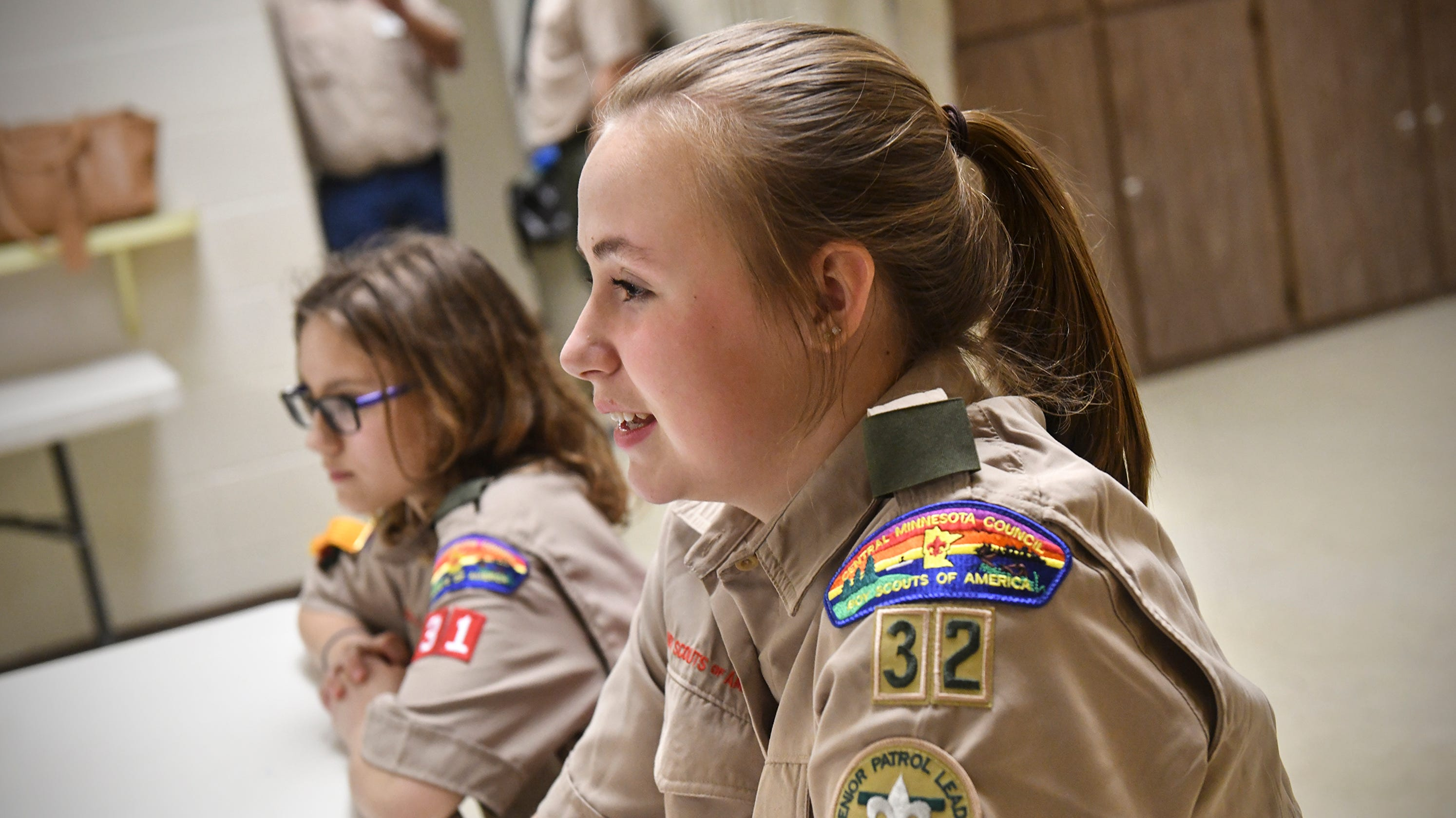 Meet the first all-girl Scouts BSA troop in Central Minnesota