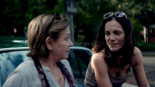 """Ana Brun, left, and Ana Ivanova in """"The Heiresses,"""" playing at All Saints Cinema this weekend."""