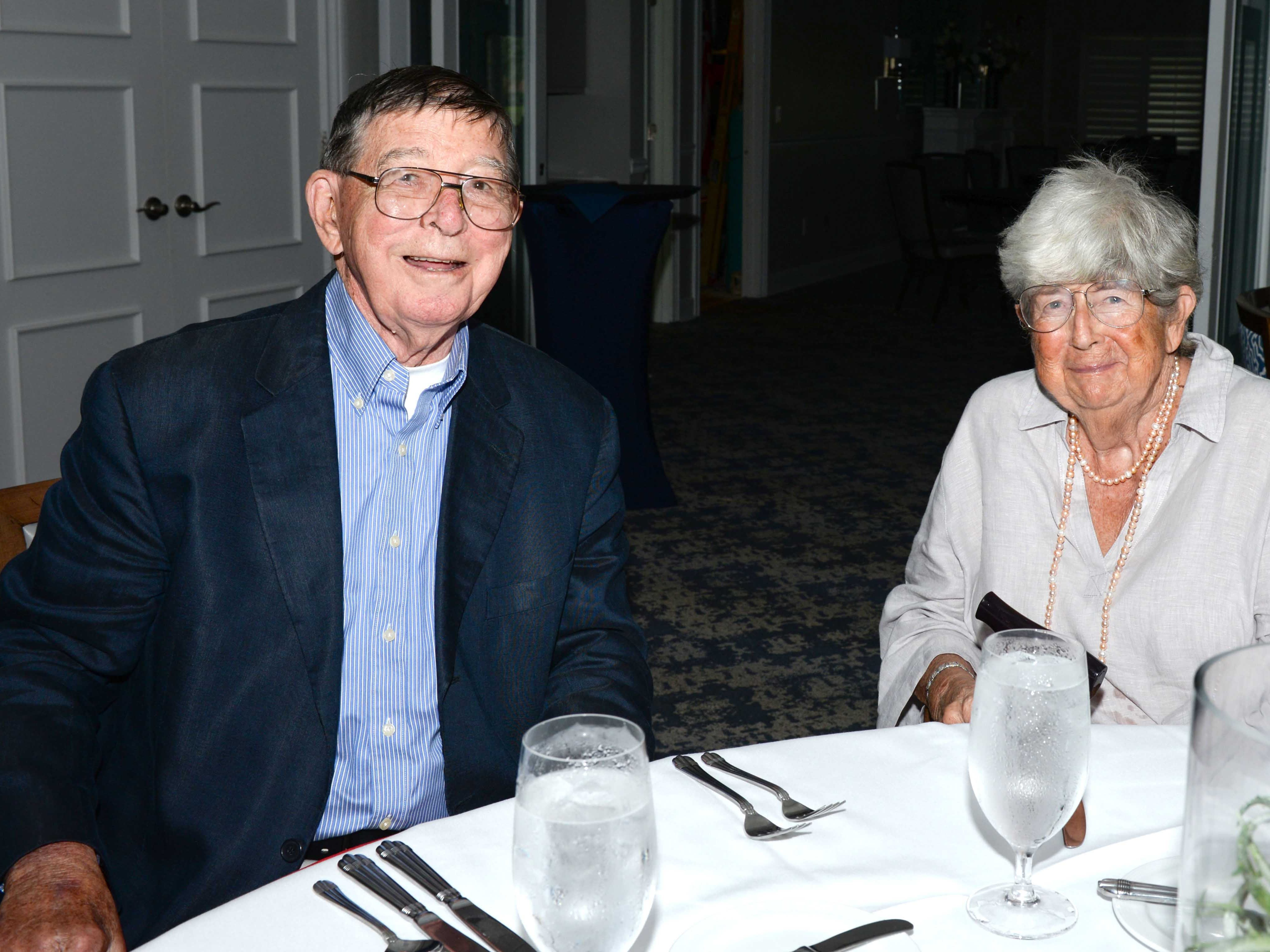 Jim and Julia Dempsey at the Stuart Friends of the Atlantic Classical Orchestra's Meet the Artist Dinner at the Stuart Yacht & Country Club.