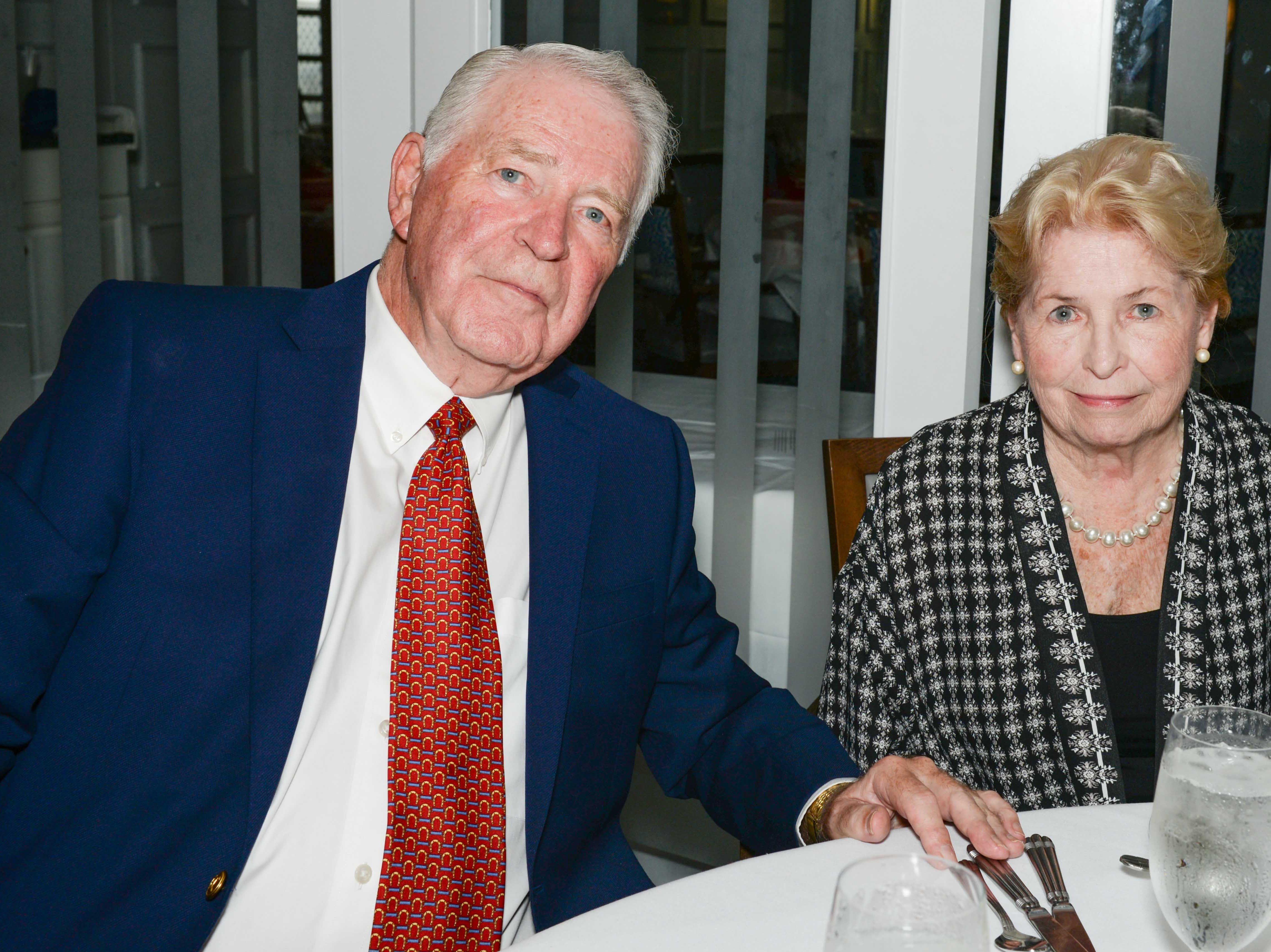 Paul and Winnie Mannion attend the Stuart Friends of the Atlantic Classical Orchestra's Meet the Artist Dinner at the Stuart Yacht & Country Club.