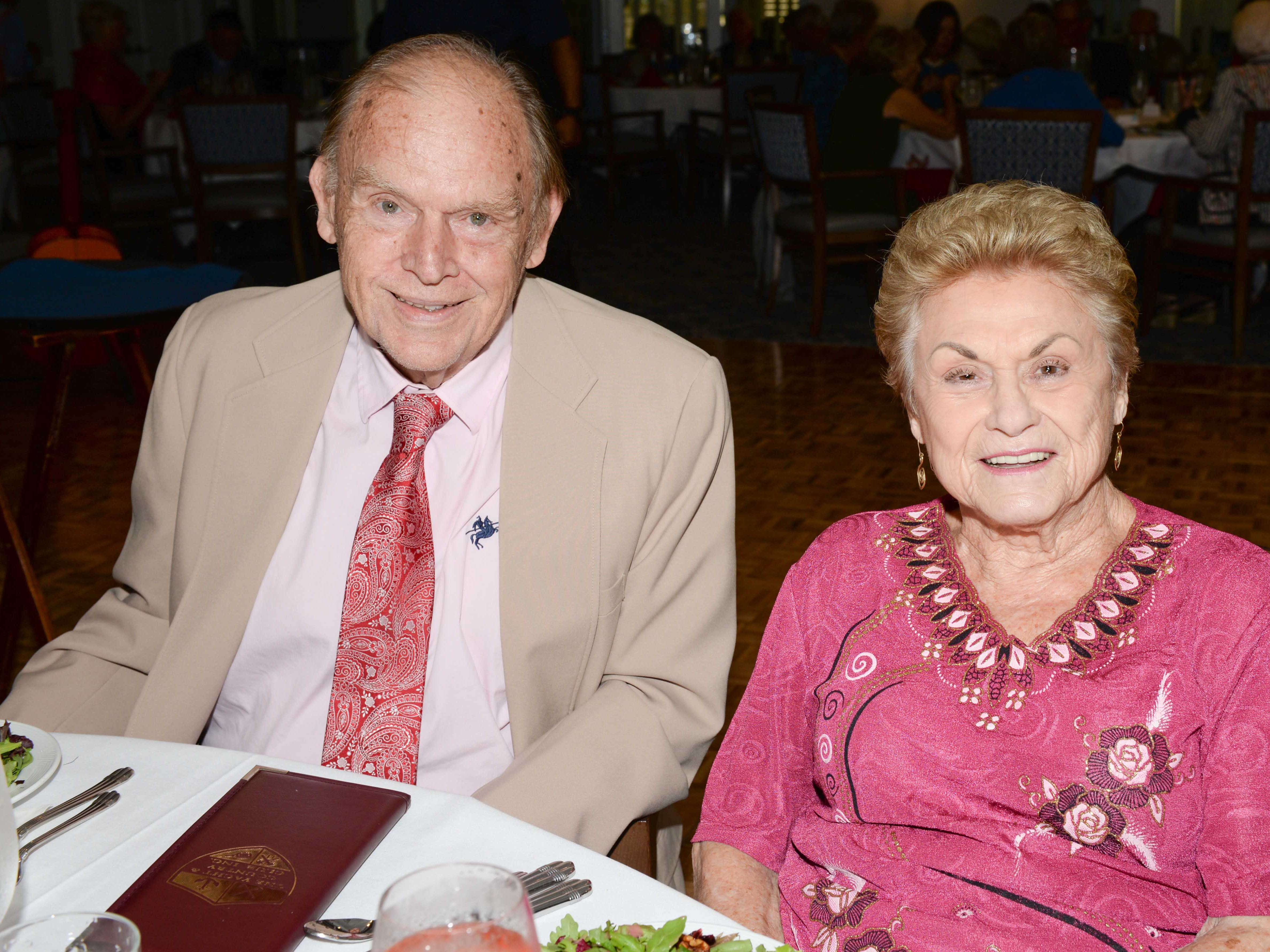 Ray and Marilyn Fredrick attend the Stuart Friends of the Atlantic Classical Orchestra's Meet the Artist Dinner at the Stuart Yacht & Country Club.