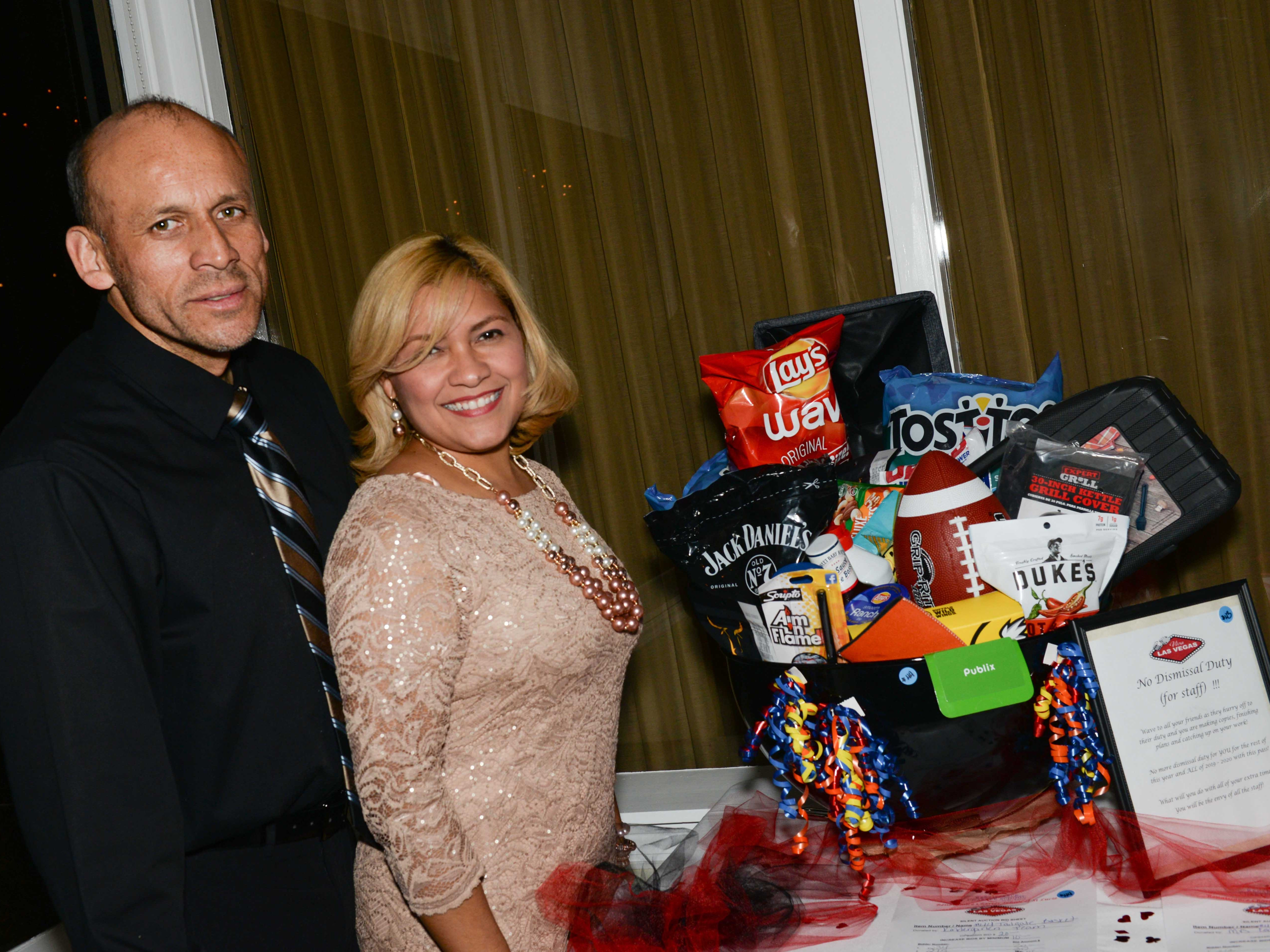 "Herando and Yelitza Chaves at Renaissance Charter School of St. Lucie's ""Viva Las Vegas"" gala and benefit auction."