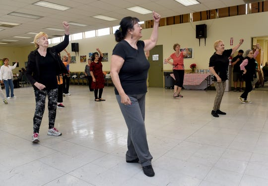 Students of a Zumba class at Wilson Senior Center in Oxnard are pictured in this 2015 file photo. The city's recreation division has been awarded a grant for its senior volunteer program.