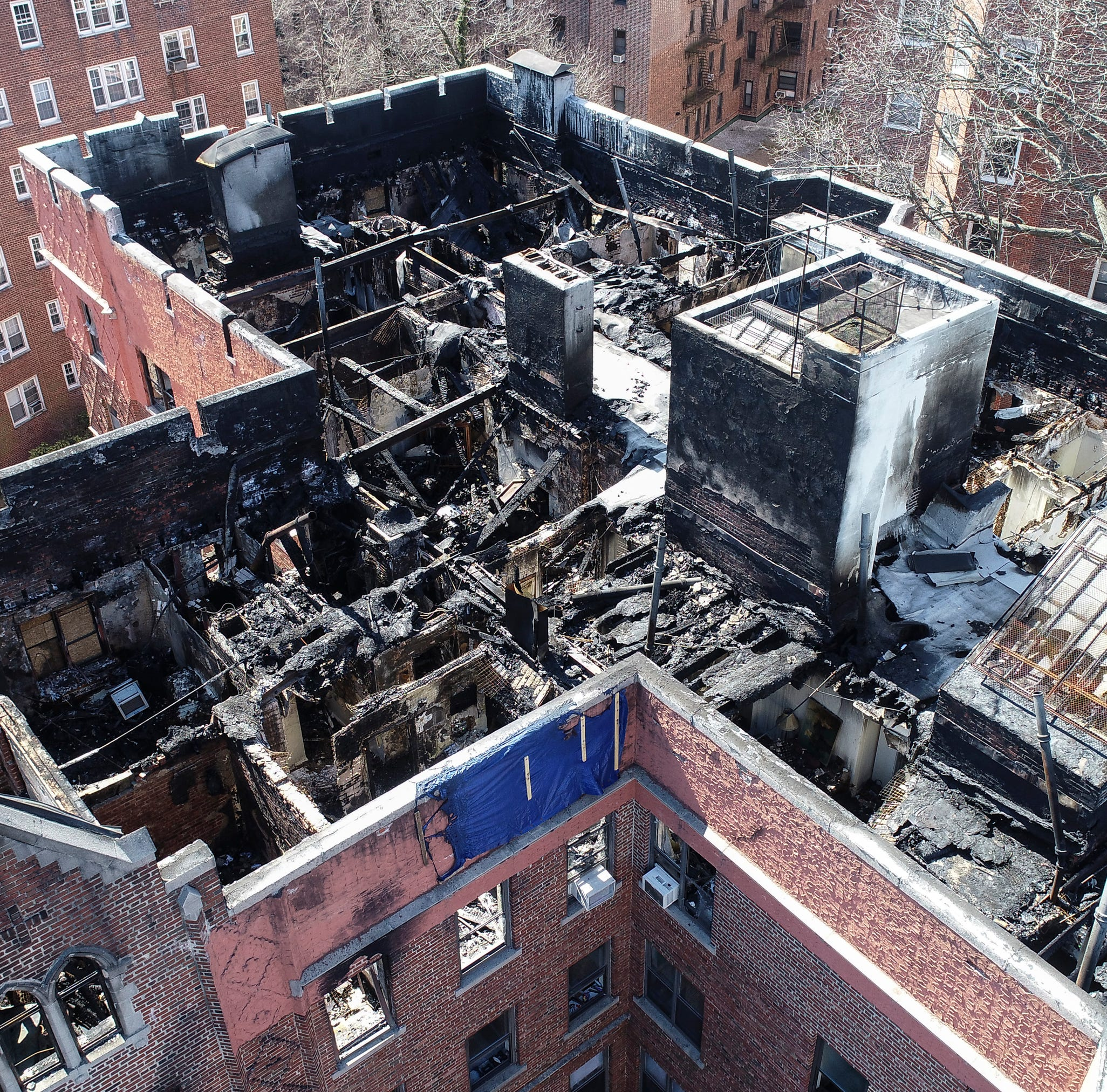 Yonkers fire: Residents might be displaced for year; see damage via drone video