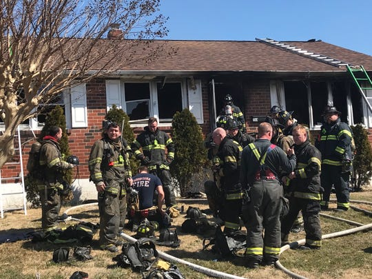 Fire crews responded to house fire this afternoon in the 1100 block of Powderhorn Dr.