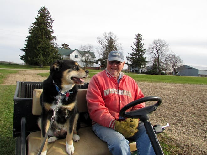 Bob and Sunny are looking forward to spending spring days together.