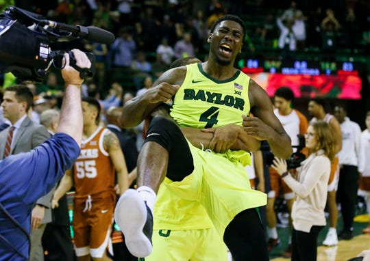 Baylor (19-13), No. 9 seed in West, at-large bid out of Big 12 conference.