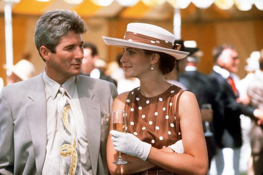 "Richard Gere and Julia Roberts in ""Pretty Woman."""
