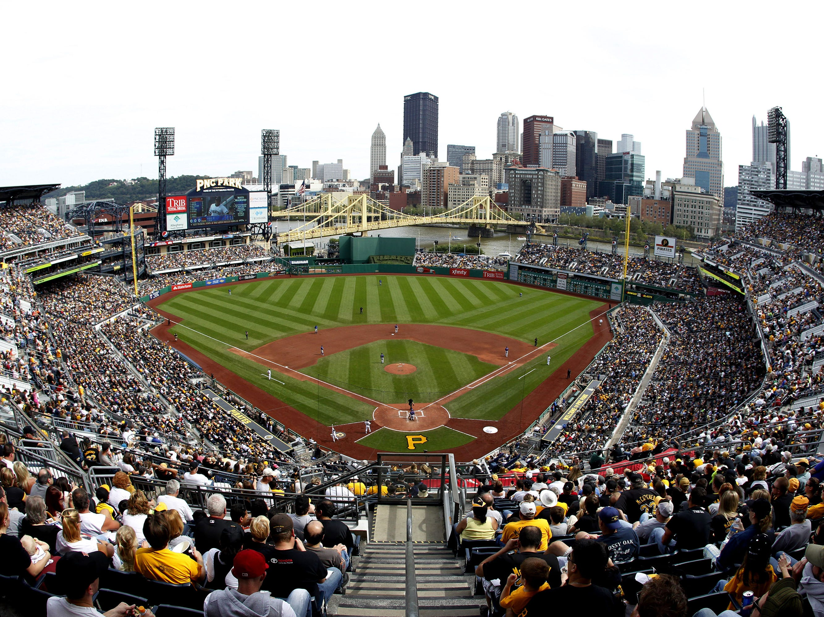 No. 45: PNC Park in Pittsburgh.