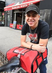 Michael Almodovar, 19, is one of the many people benefiting from the changing environment in which barriers to giving the once incarcerated a chance to work are coming down.