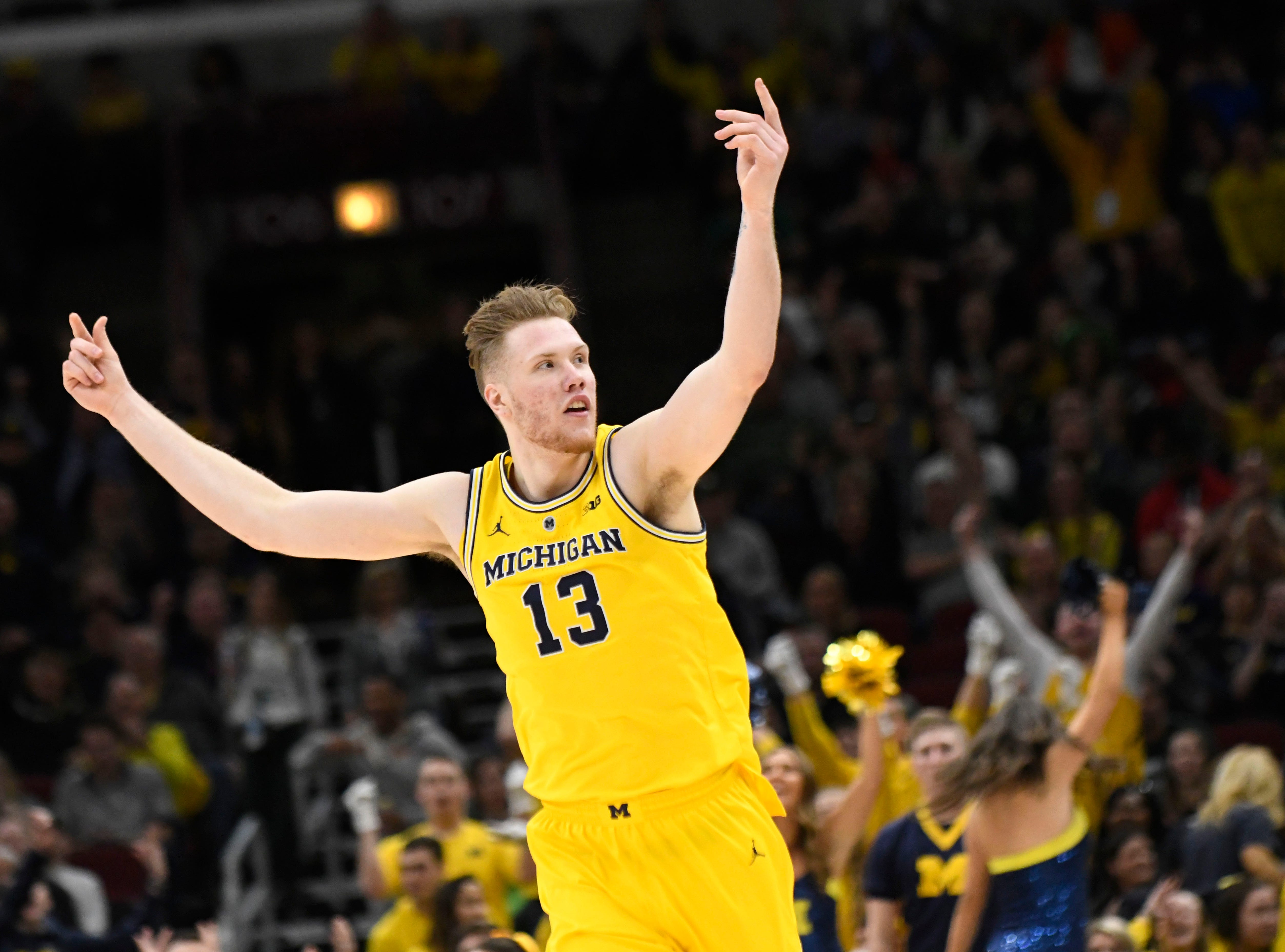 Michigan (28-6), No. 2 seed in West, at-large bid out of Big Ten Conference