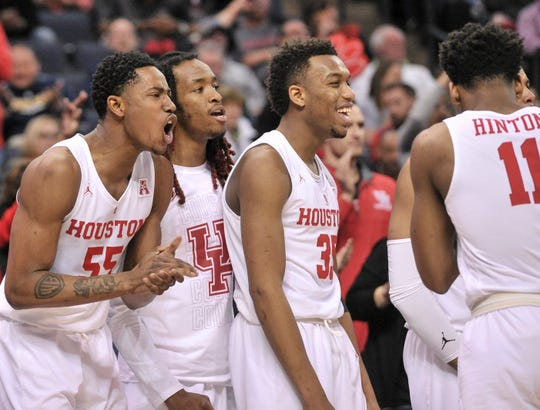 Houston (31-3), No. 3 seed in Midwest, at-large bid out of American Athletic Conference