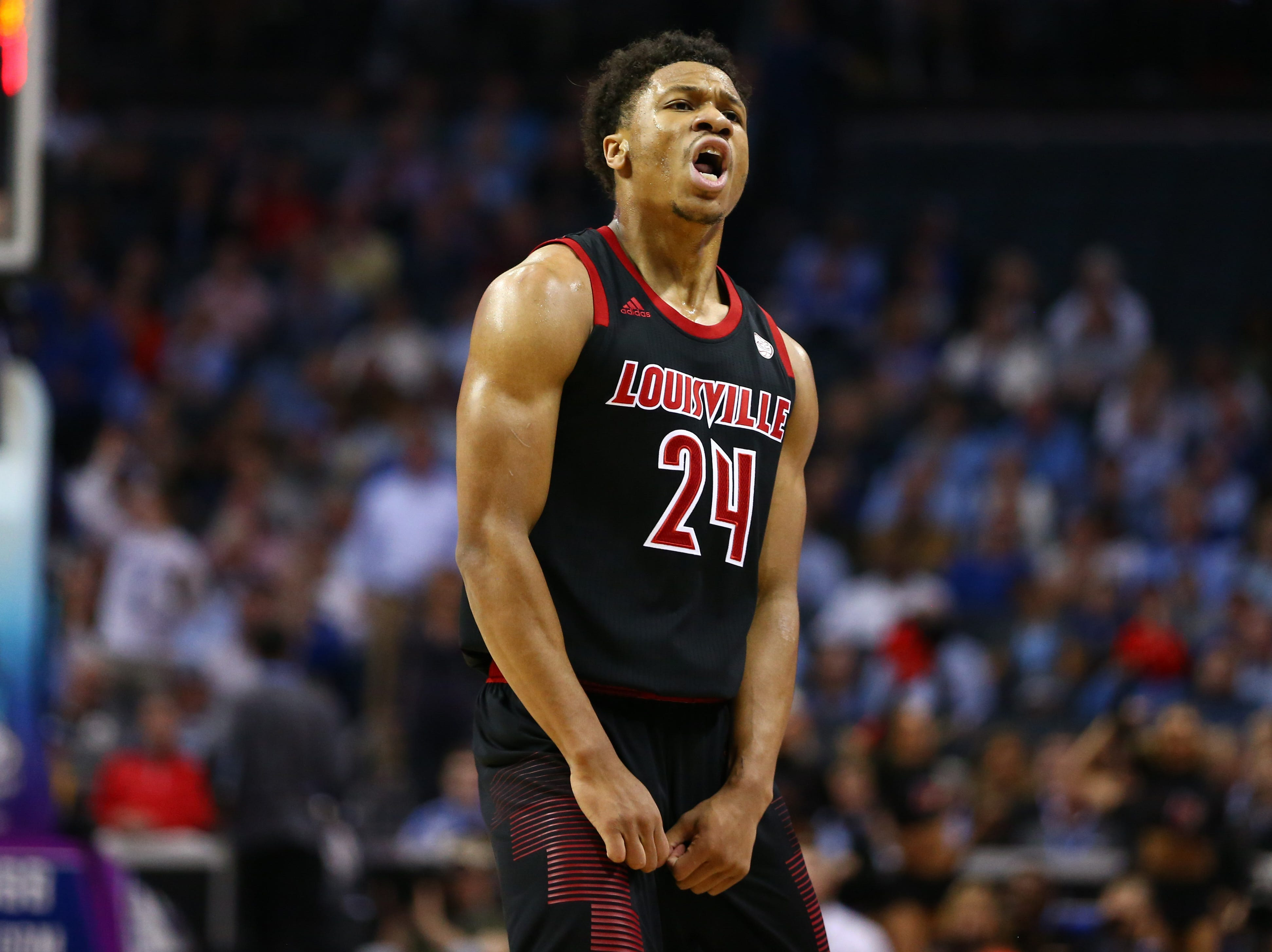 Louisville (20-13), No. 7 seed in East, at-large bid out of Atlantic Coast Conference