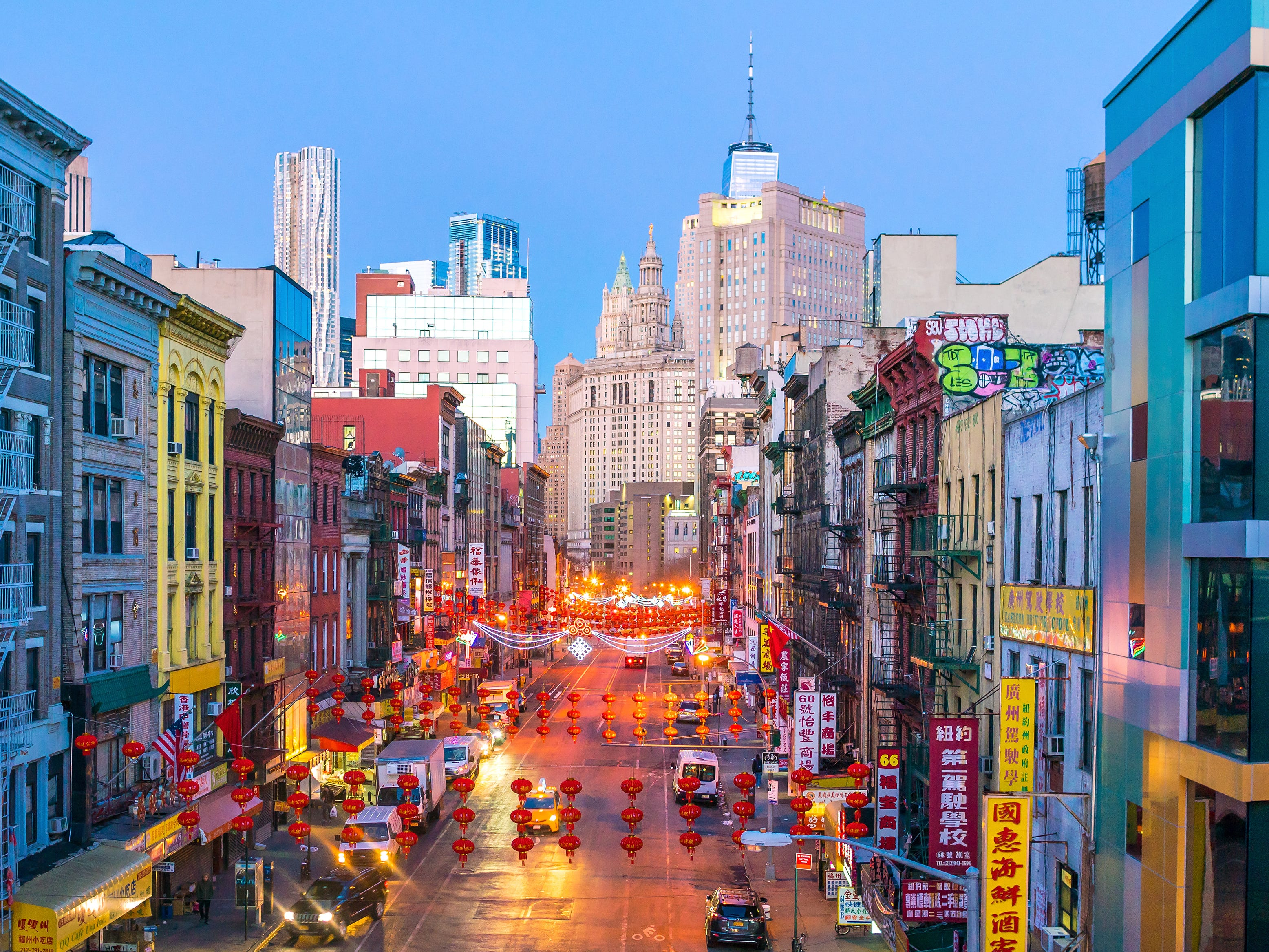 No. 41: Chinatown in New York City.