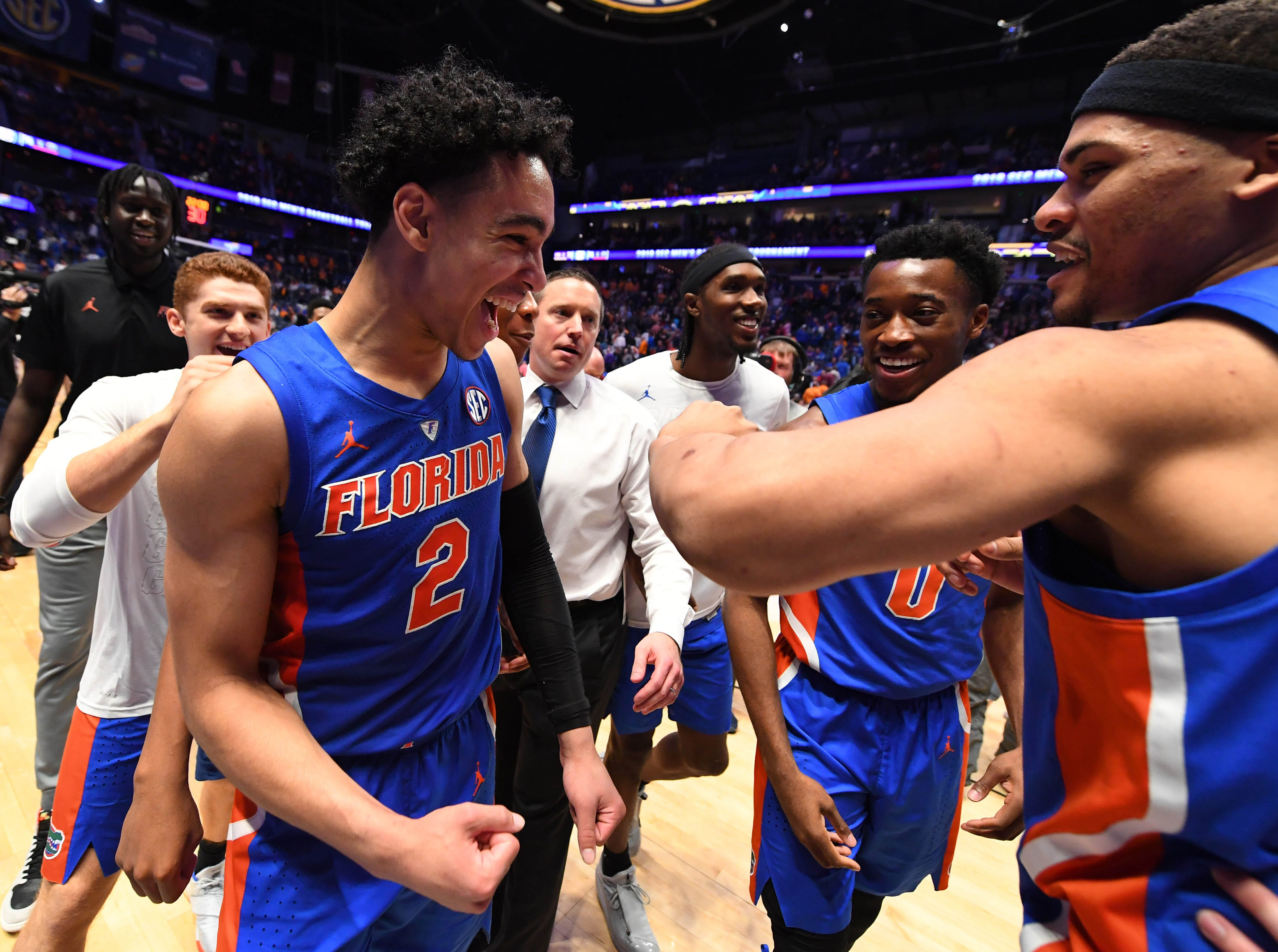 Florida (19-15), No. 10 seed in West, at-large bid out of Southeastern Conference.