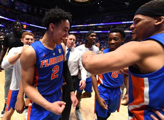 Florida, 19-15 overall, got the No. 10 seed in the West Region and opens the NCAA Tournament against Nevada.