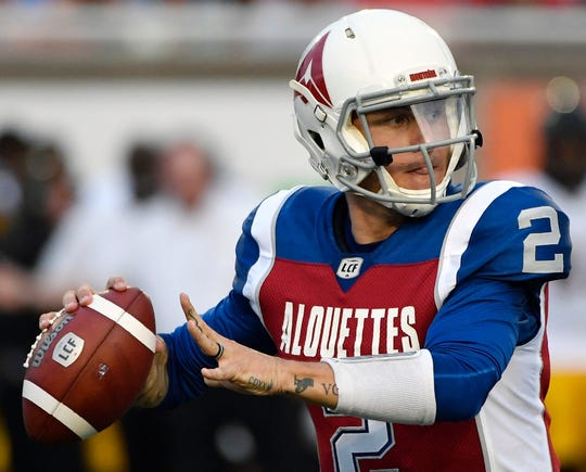 Johnny Manziel joins an Express team that has struggled in the inaugural AAF season.