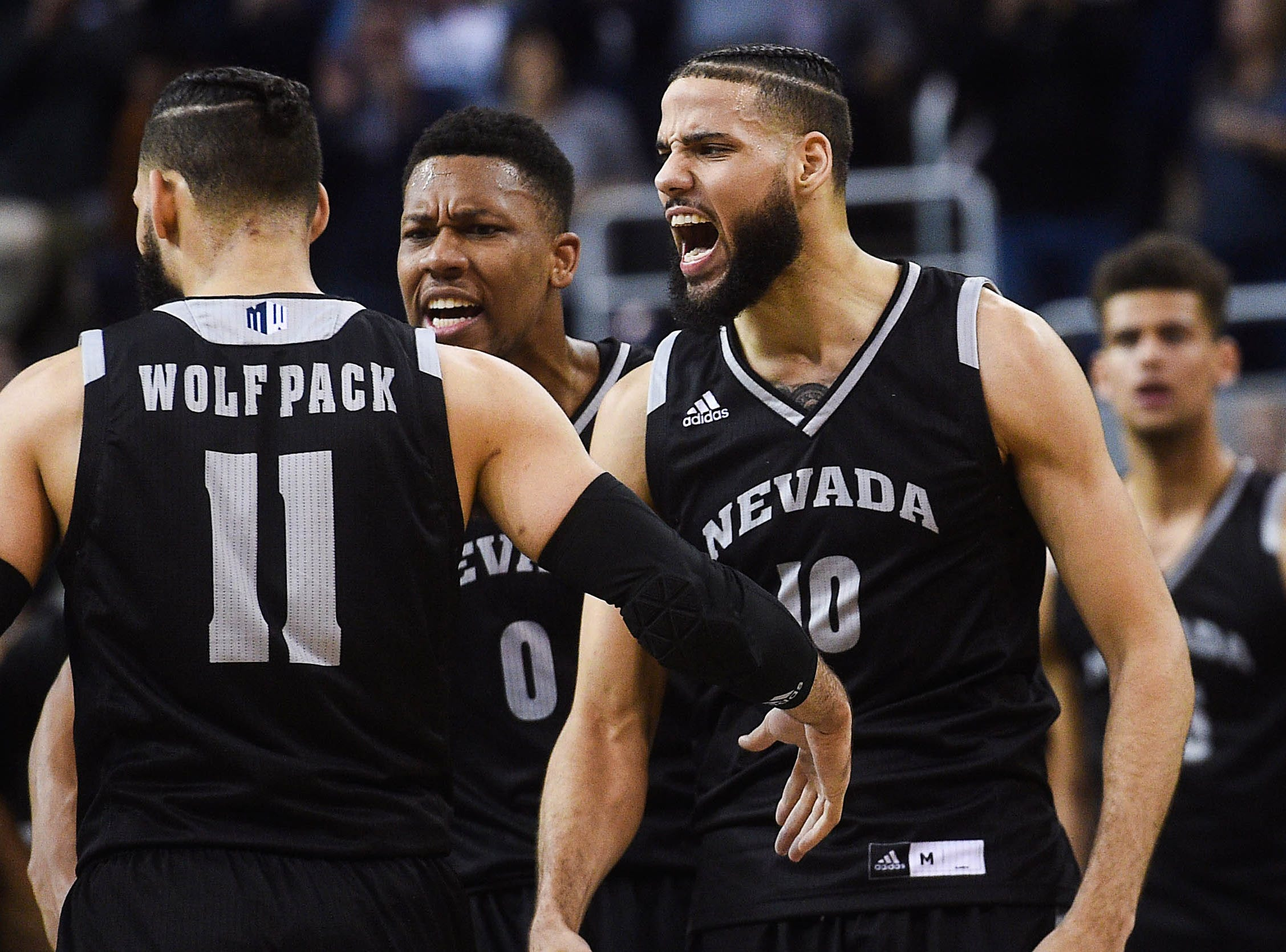 Nevada (29-4), No. 7 seed in West, at-large bid out of Mountain West Conference.