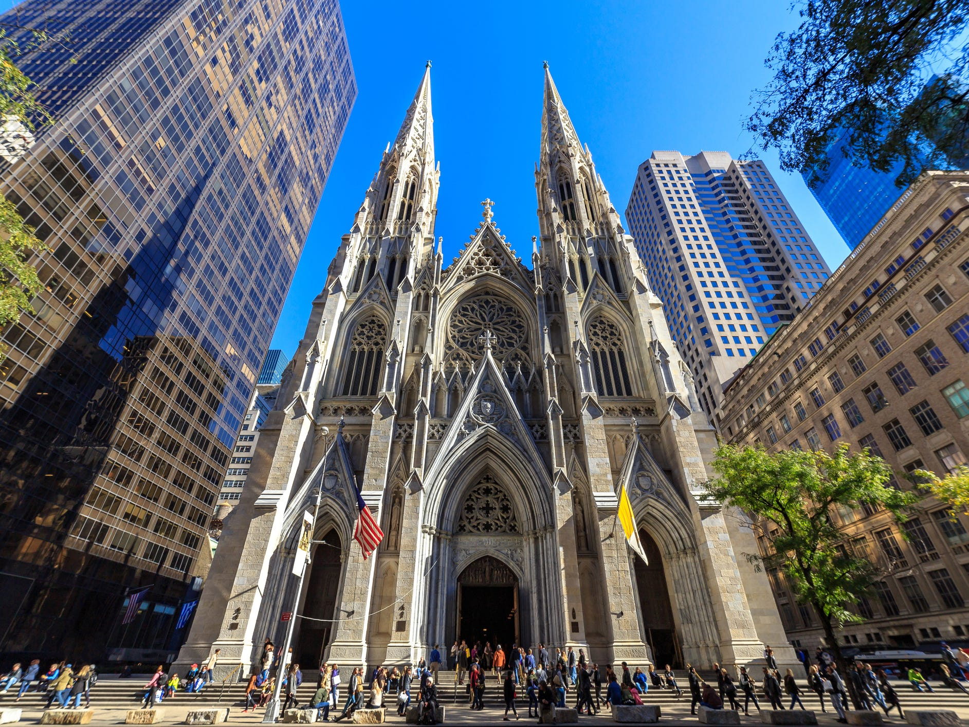No. 40: St. Patrick's Cathedral in New York City.