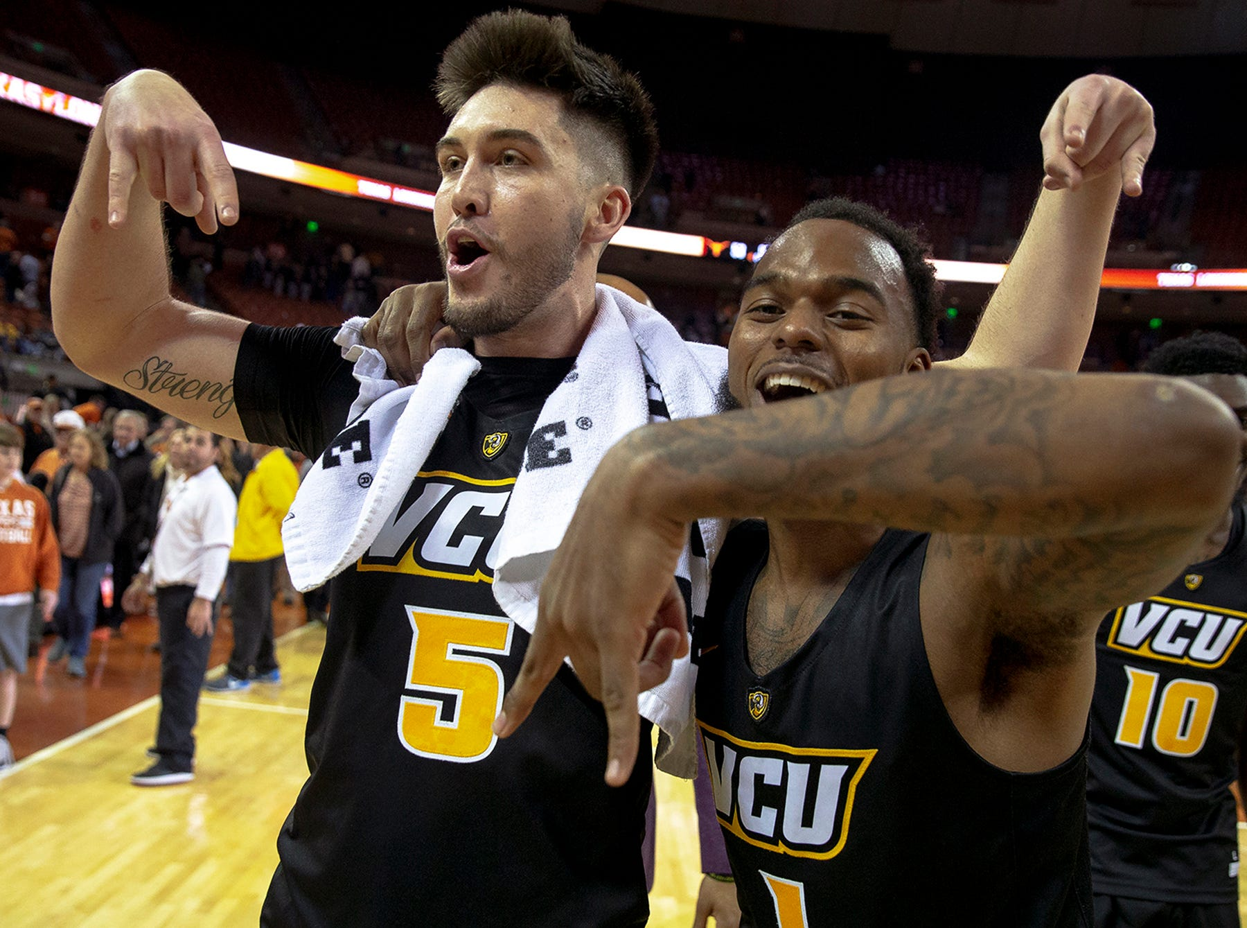 VCU (25-7), No. 8 seed in East, at-large bid out of Atlantic 10 Conference