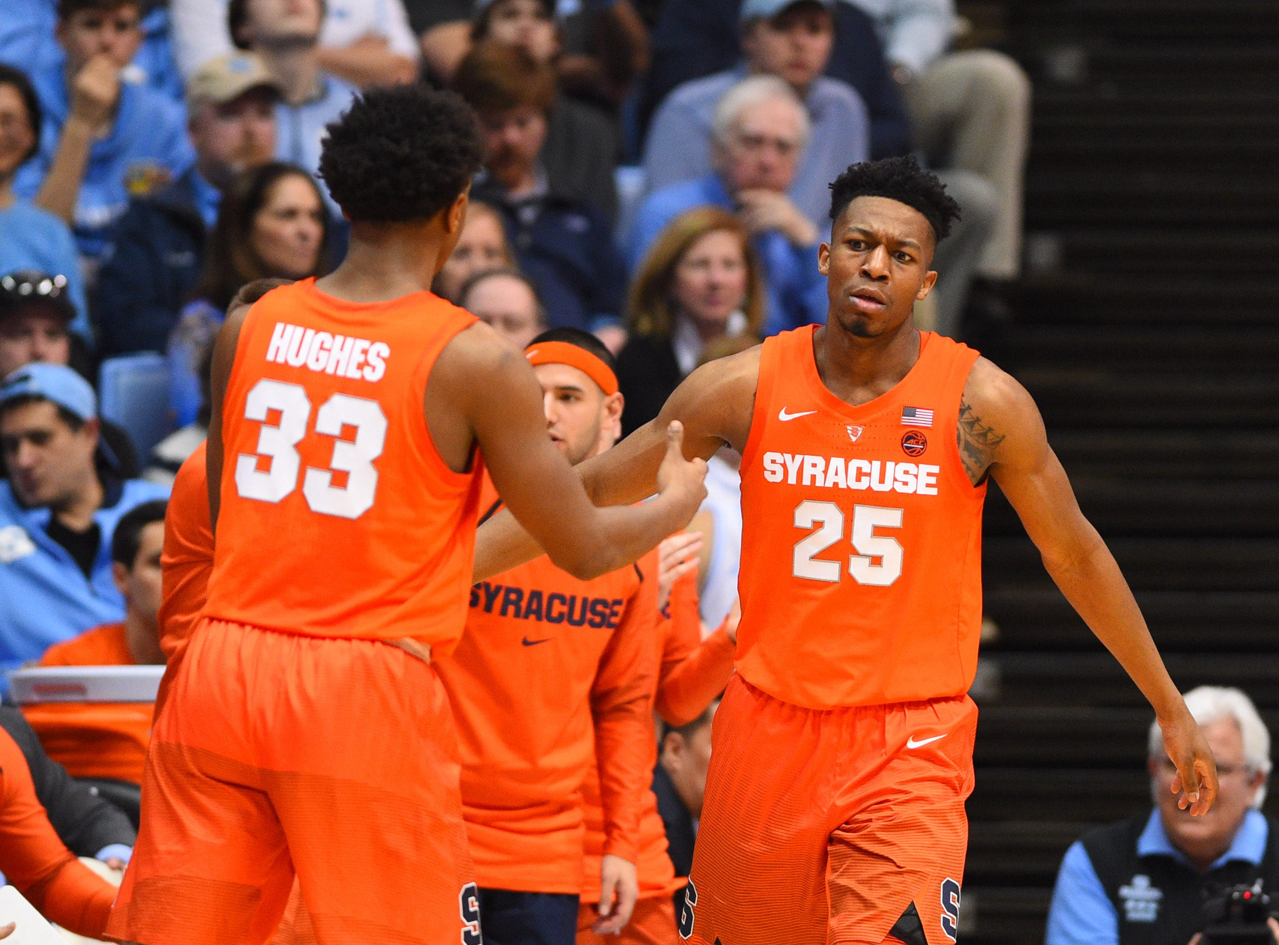 Syracuse (20-13), No. 8 seed in West, at-large bid out of Atlantic Coast Conference