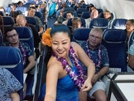 Southwest Airlines launches Hawaii service from Oakland to Honolulu with new snacks, in-flight hula dancing