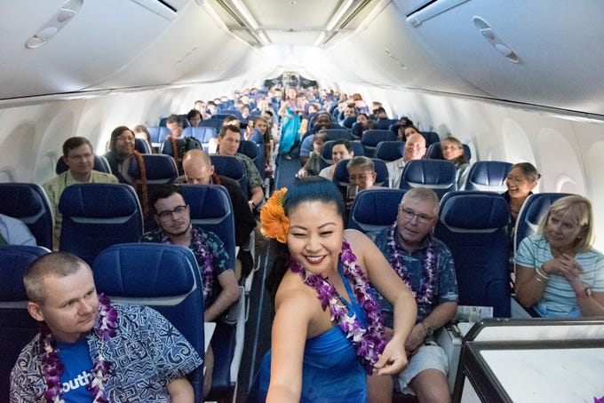 Southwest Airlines launches Hawaii flights