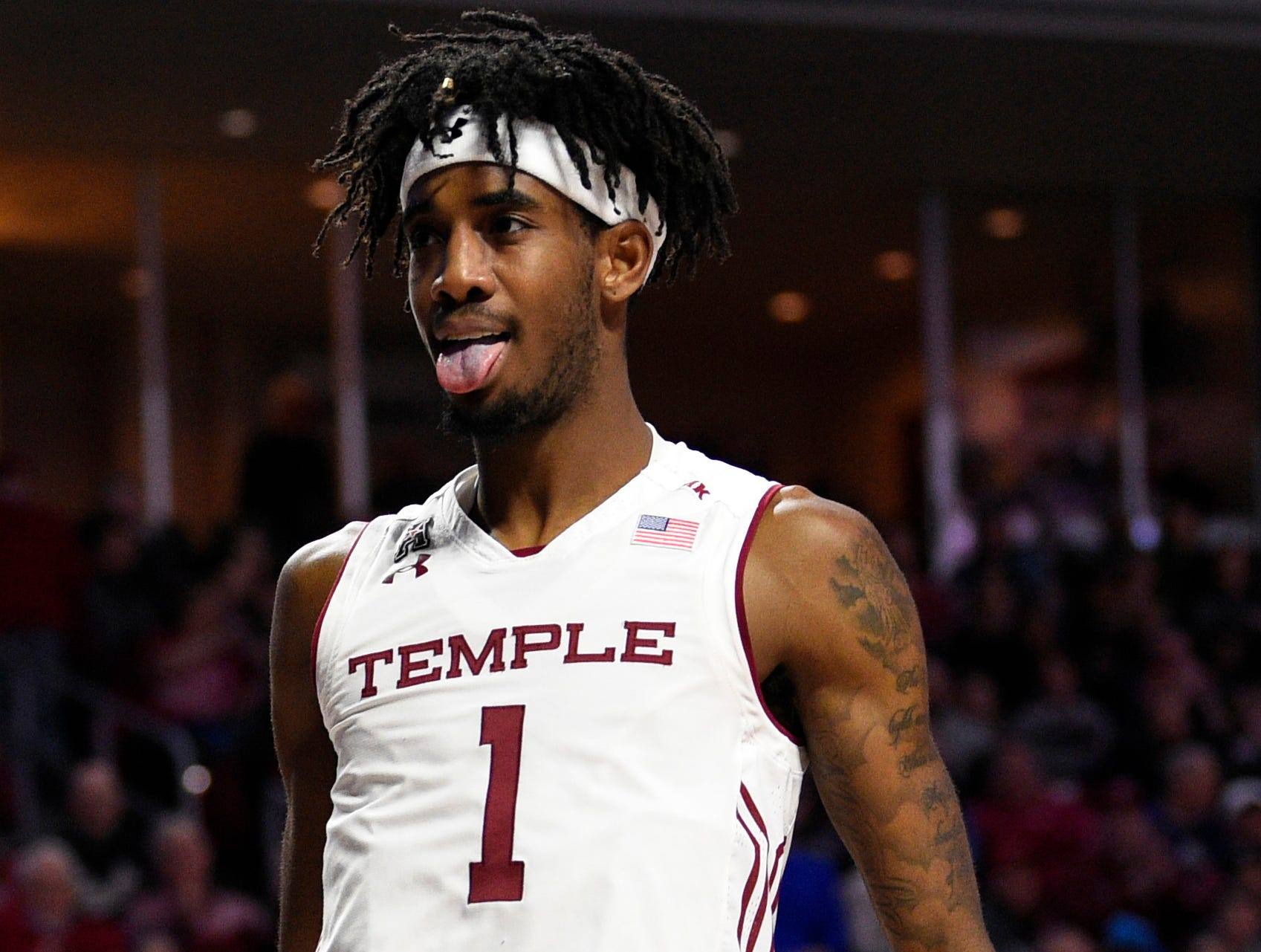 Temple (23-9), No. 11 seed - First Four game - in East, at-large bid out of American Athletic Conference