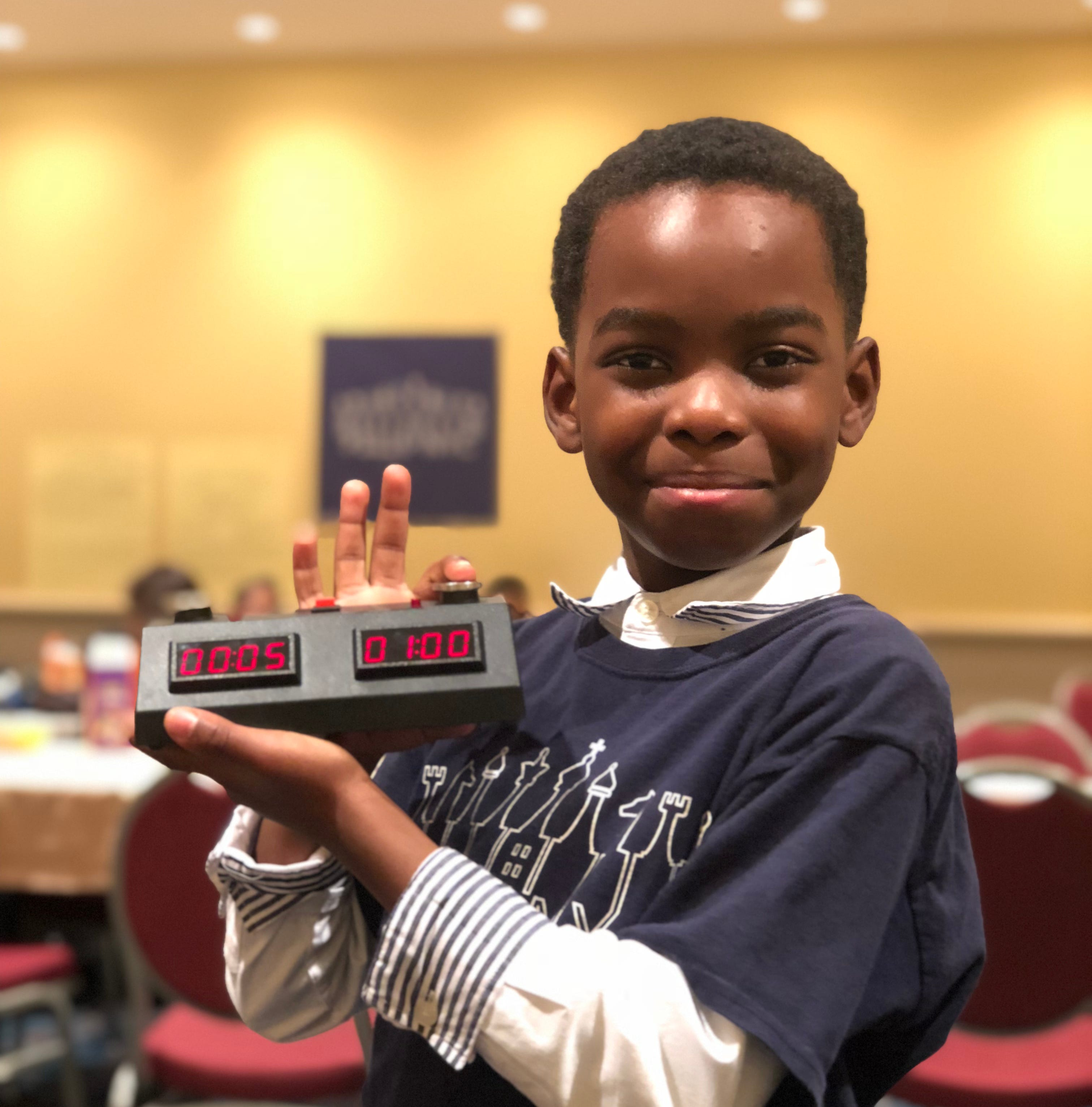 Nigerian refugee, 8, wins New York chess championship: 'I want to be the youngest grandmaster'