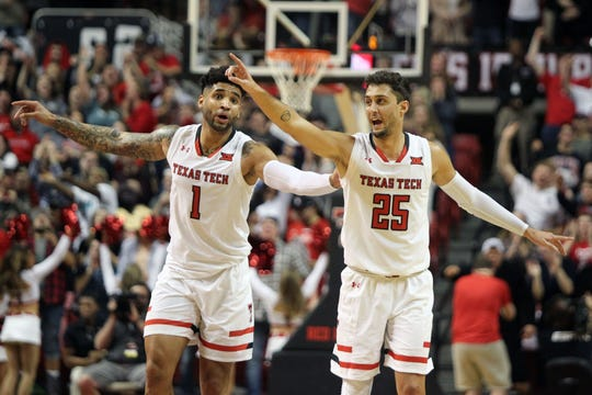 Texas Tech (26-6), No. 3 seed in West, at-large bid out of Big 12 Conference.