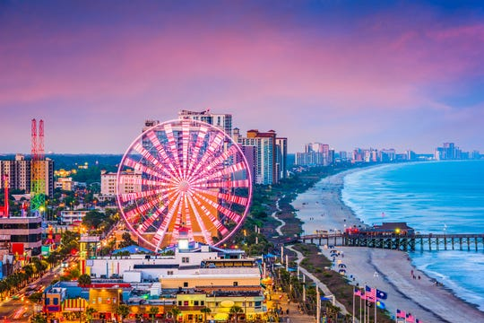 Myrtle Beach, South Carolina, is a good option if you want to head to the beach without flying.