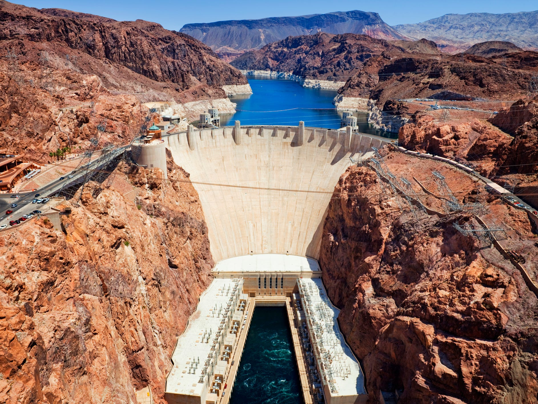 No. 47: The Hoover Dam on the border of Nevada and Arizona.