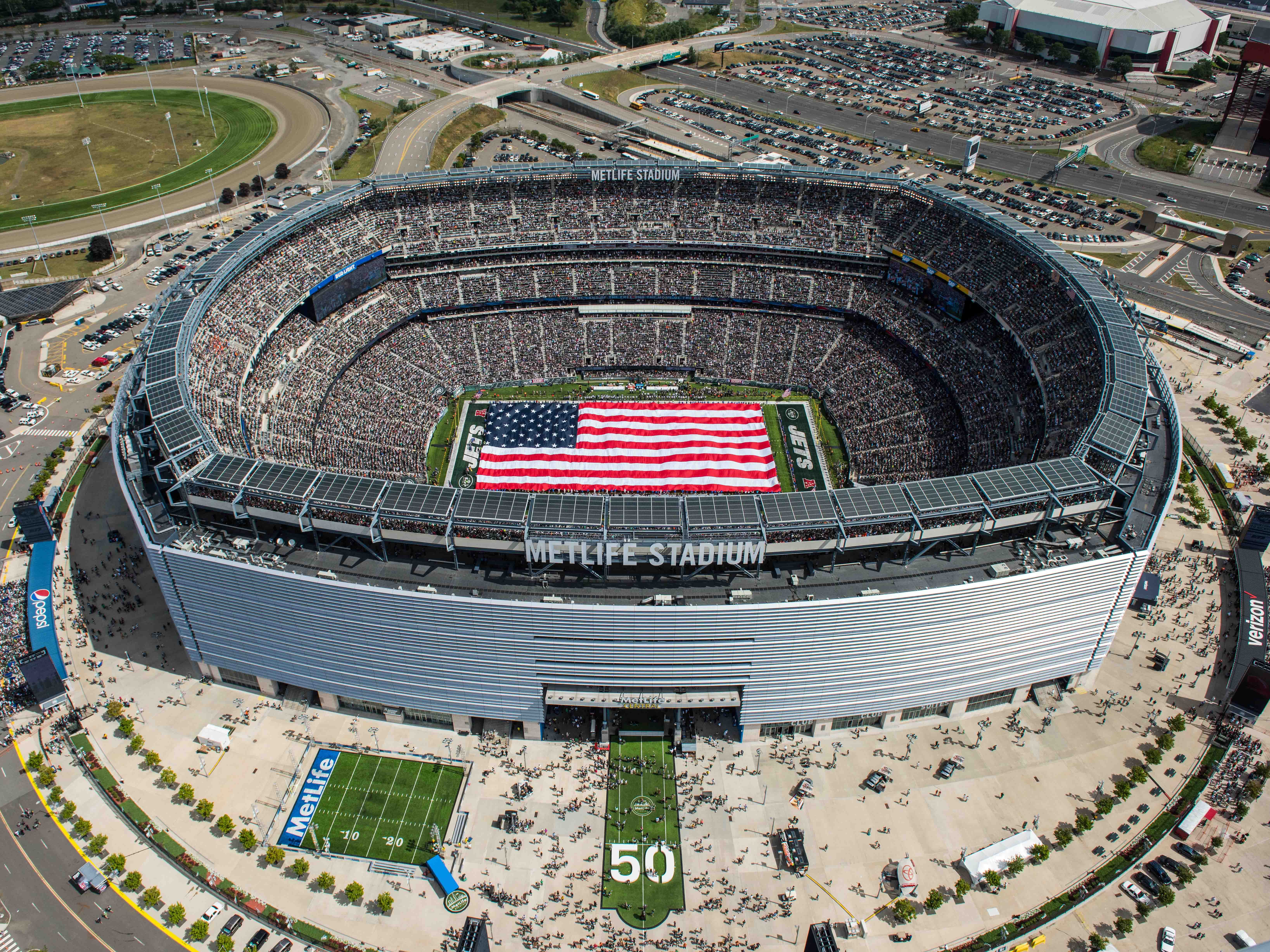 No. 17: MetLife Stadium in East Rutherford, New Jersey.