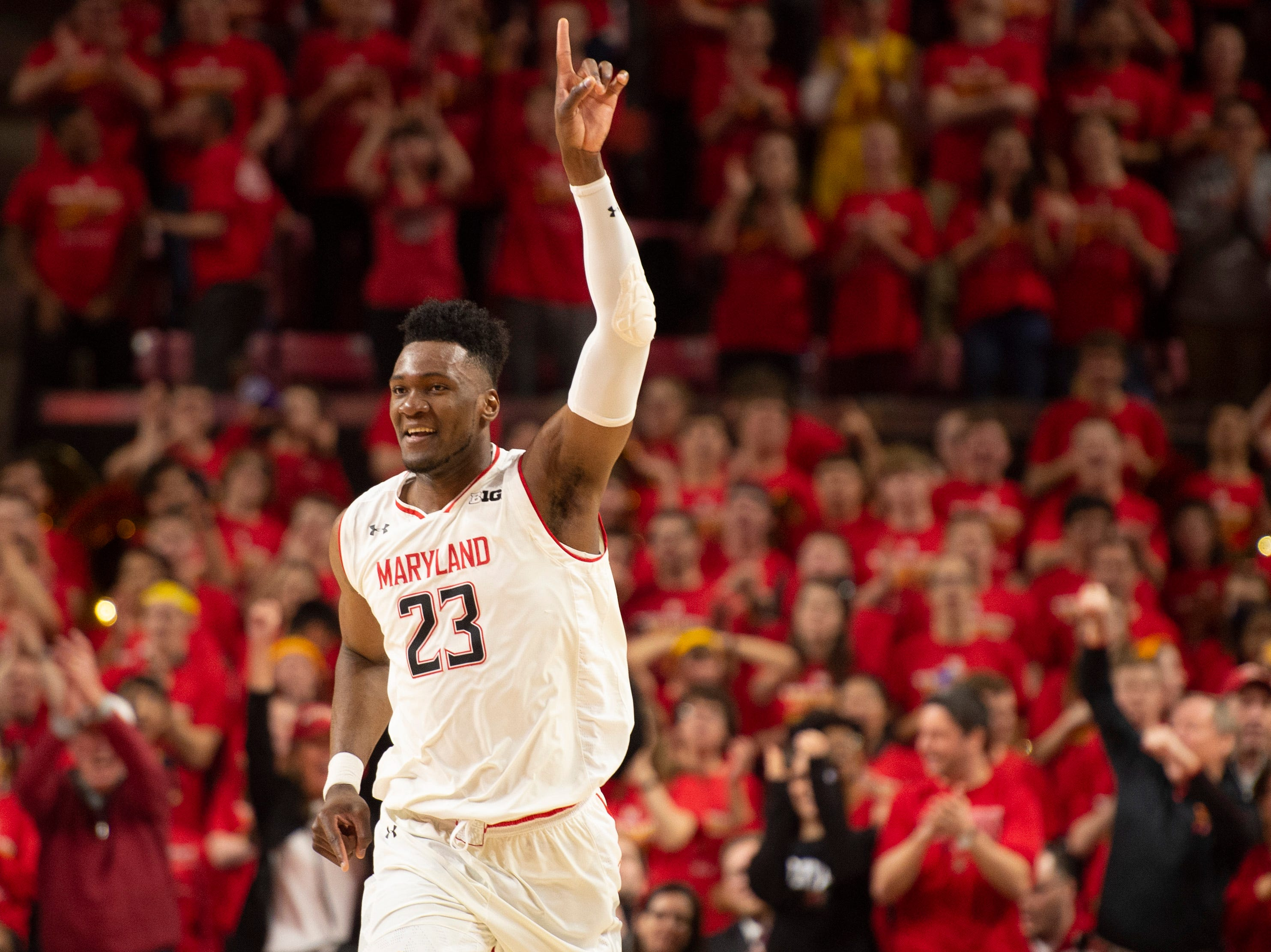 Maryland (22-10), No. 6 seed in East, at-large bid out of the Big Ten Conference.