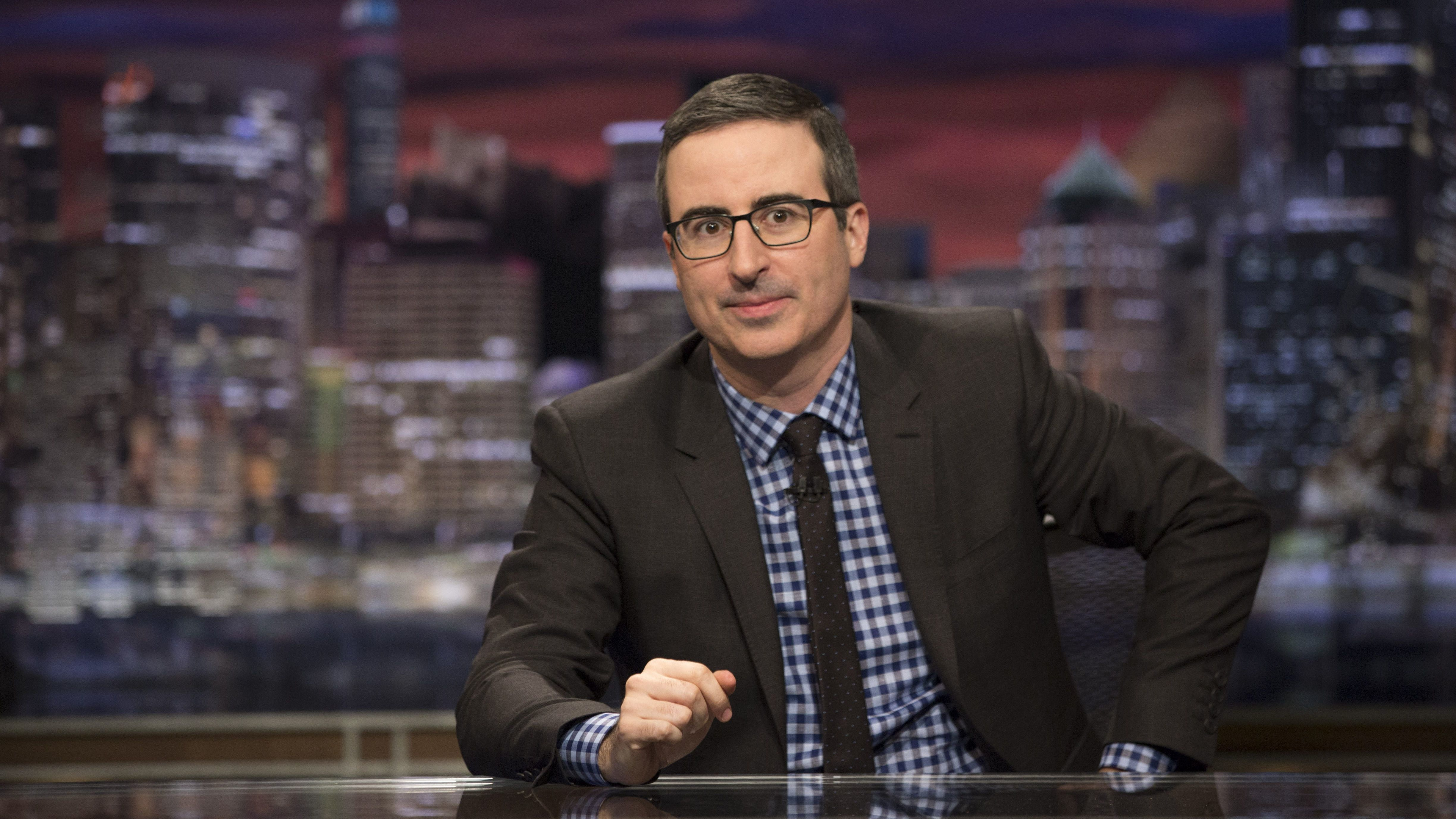 """Last Week Tonight"" host John Oliver"