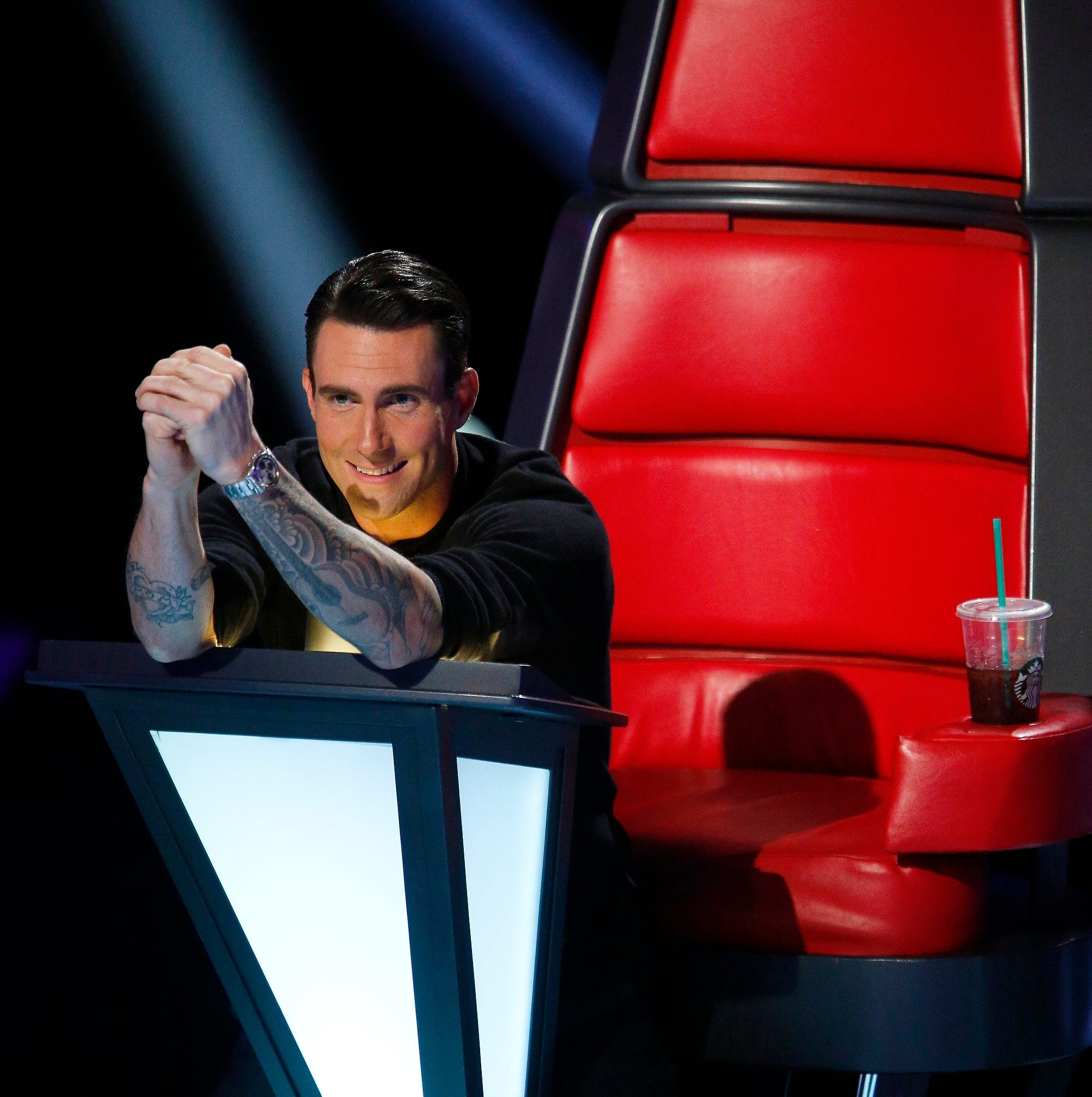 """THE VOICE -- """"Blind Auditions"""" -- Pictured: Adam Levine -- (Photo by: Trae Patton/NBC) ORG XMIT: Season:6 [Via MerlinFTP Drop]"""