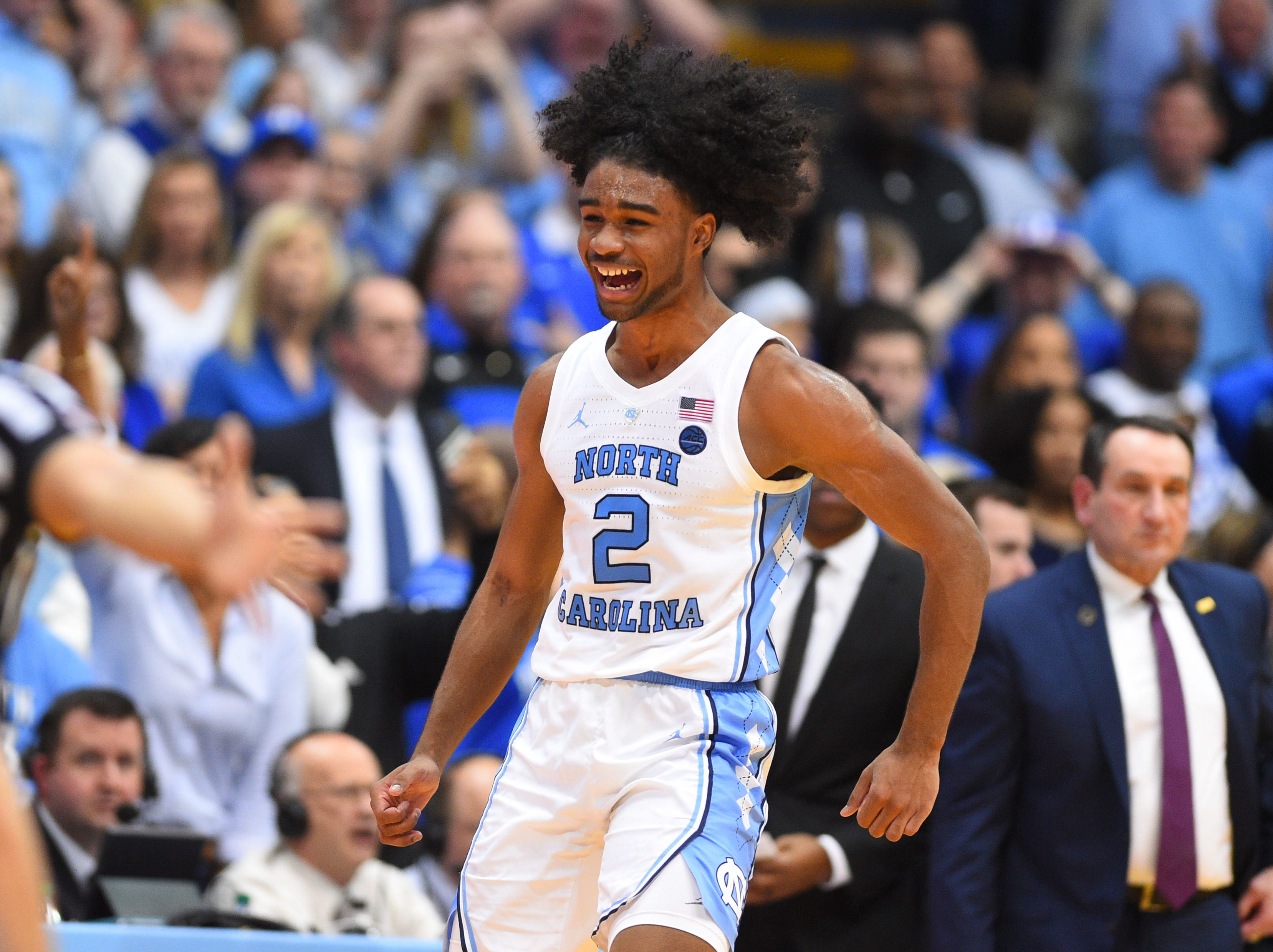 North Carolina (27-6), No. 1 seed in Midwest, at-large bid out of the Atlantic Coast Conference