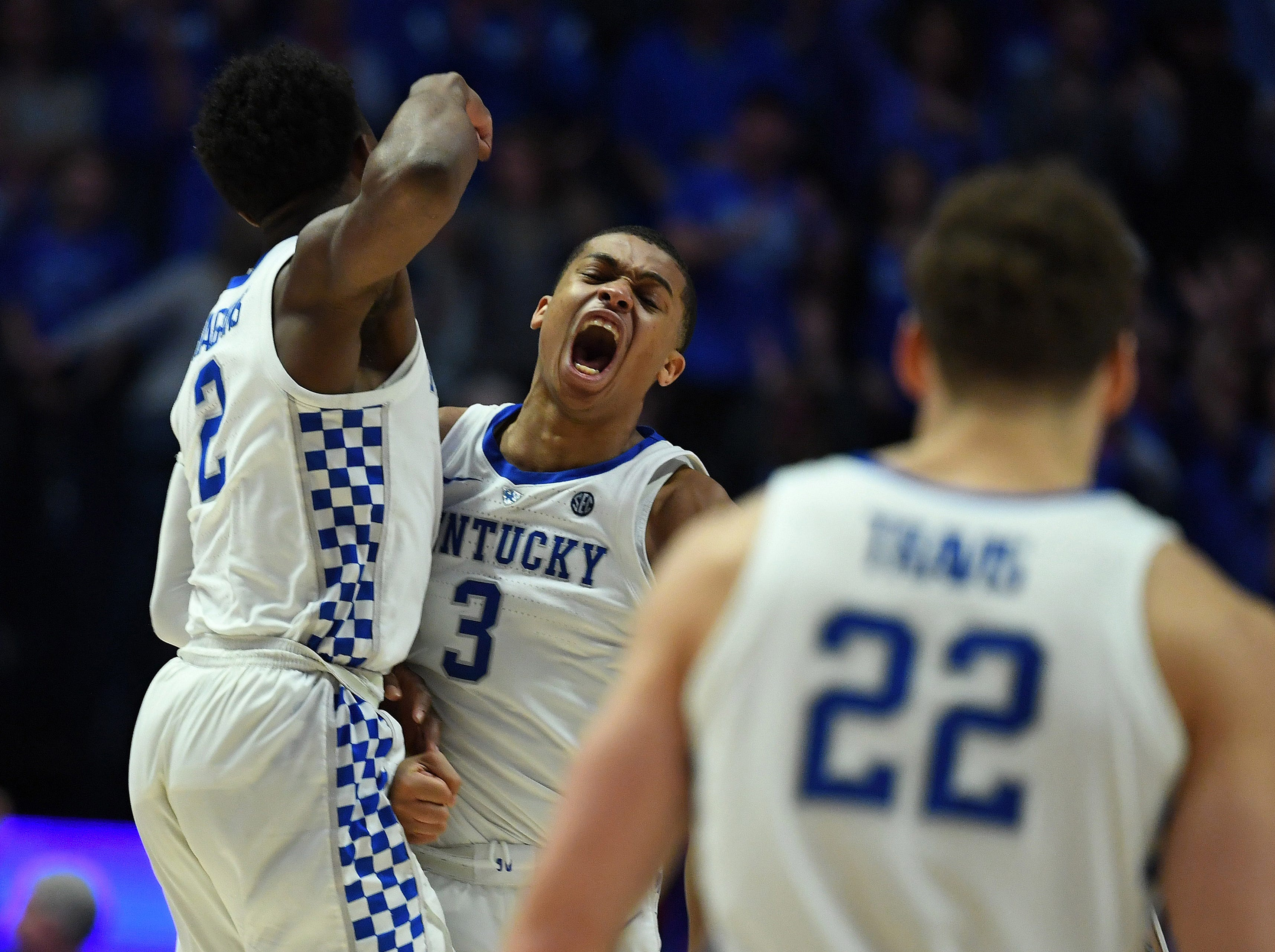 Kentucky (27-6), No. 2 seed in Midwest, at-large bid out of Southeastern Conference